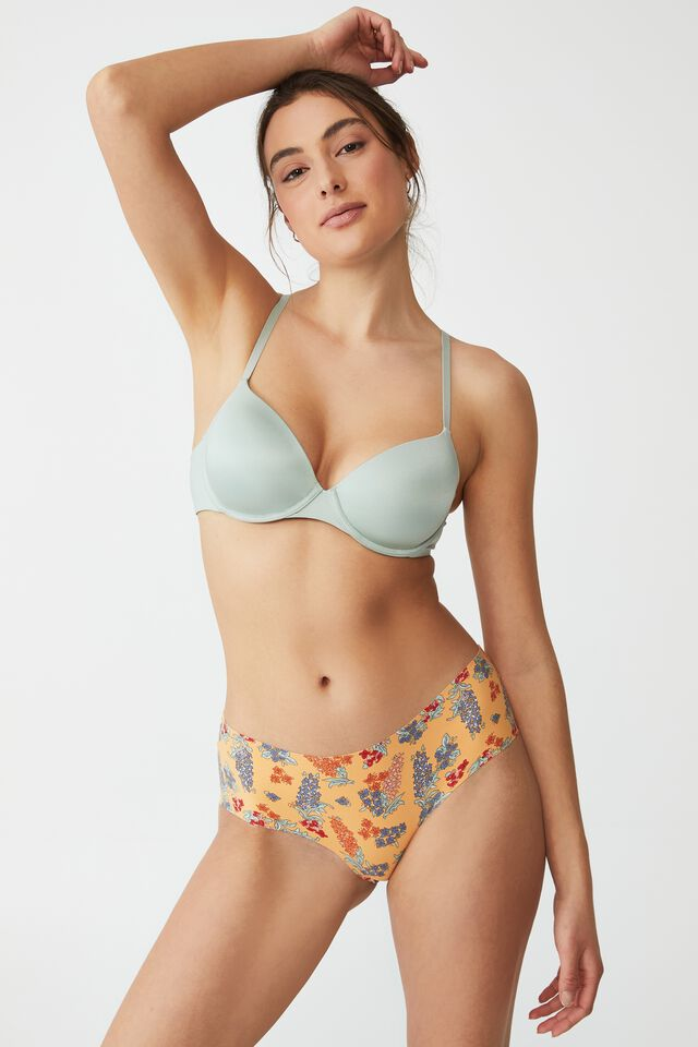 The Invisible Boyleg Brief, 80 S TROPICAL FLORAL