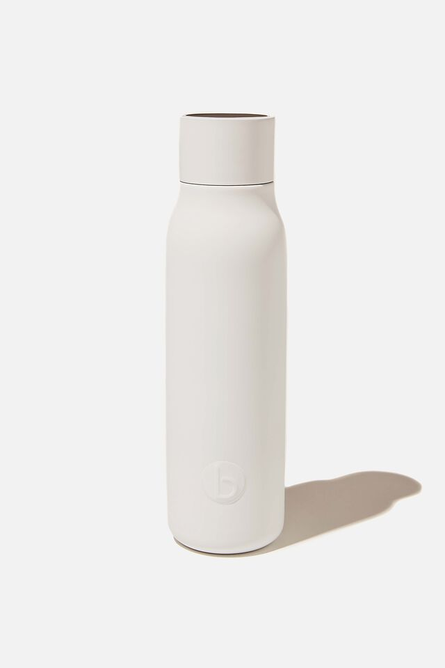 Hydrate Me Drink Bottle, WHITE