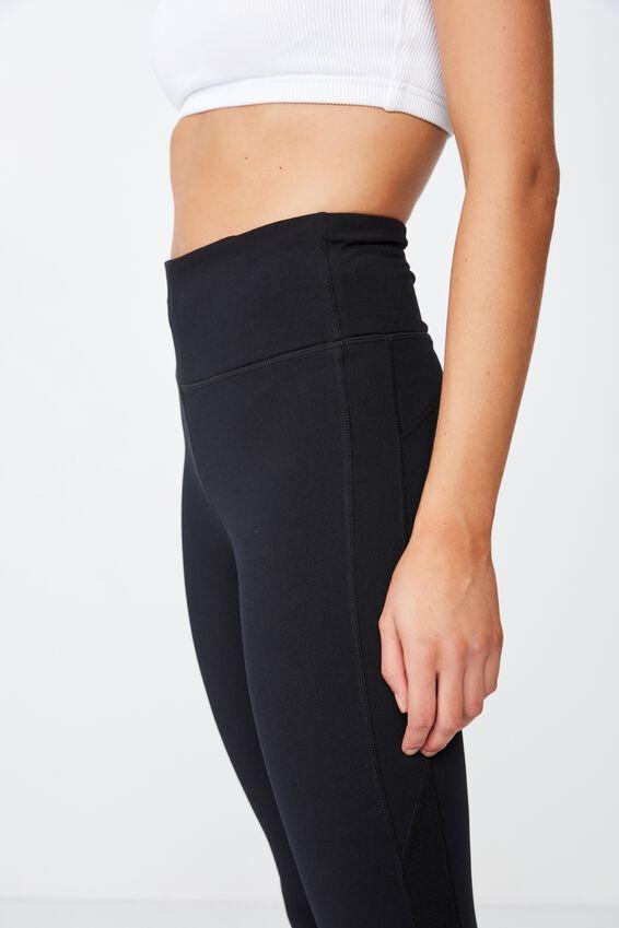 Fleece Lined Tight, BLACK TEXTURE