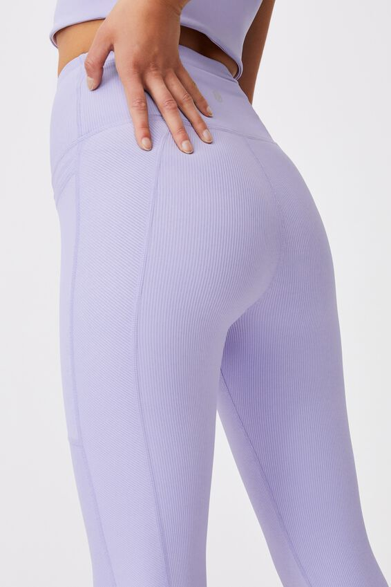 Rib Pocket 7/8 Tight, CORNFLOWER LILAC