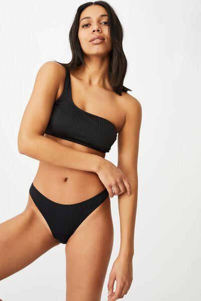 Full Bikini Bottom, BLACK RIB 21