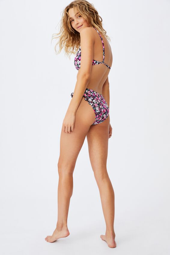 Full Bikini Bottom Mm Frill, PAINTED DENSE DITSY/FRILL