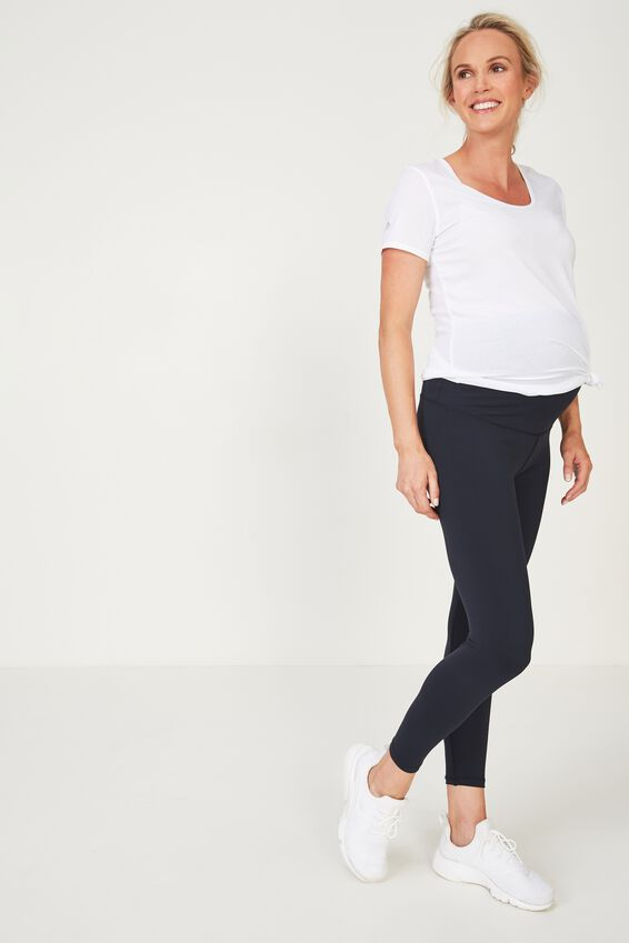 Maternity Core 7/8 Tight, NAVY