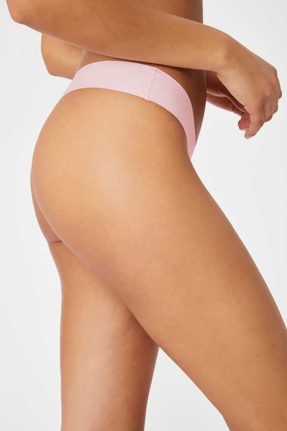 The Invisible G String Brief, LILAC SNOW
