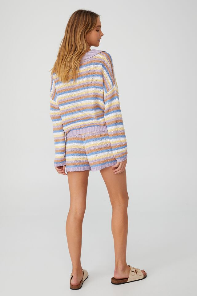 Summer Lounge Beach Knit, ICECREAM STRIPE