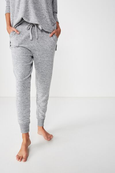 Supersoft Slim Fit Pant, GREY MARLE