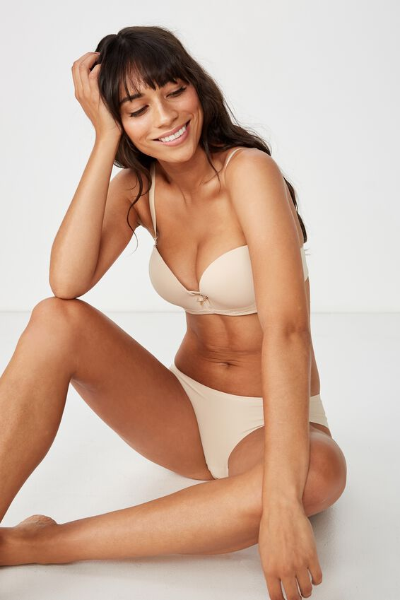 Seamless Essential Bikini Brief, FRAPPE