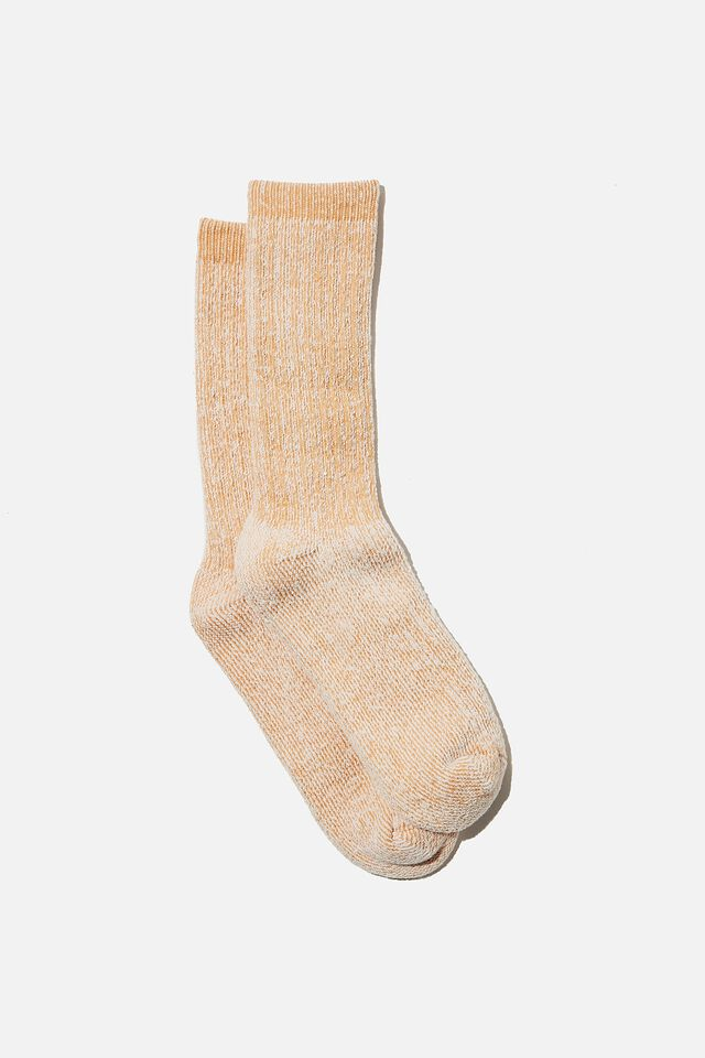 Day Dream Bed Sock, BUTTERSCOTCH