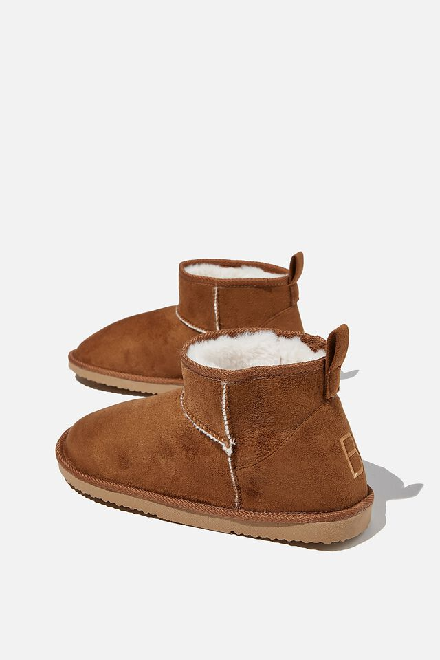 Body Super Cropped Home Boot, CASHEW