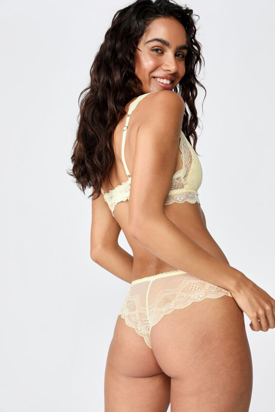 Cindy Brasiliano Brief, PALE BANANA
