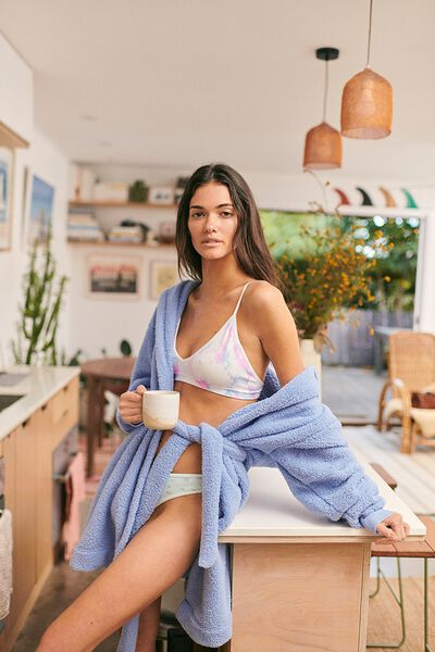 The Lounging Robe, CORNFLOWER LILAC