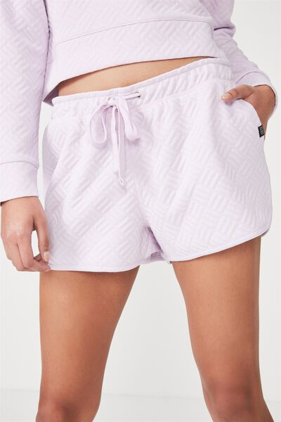 Textured Short, ICY LILAC