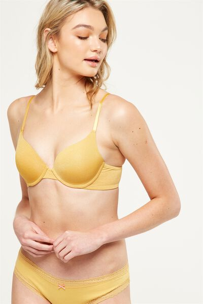 Everyday T Shirt Bra, HONEY MARLE