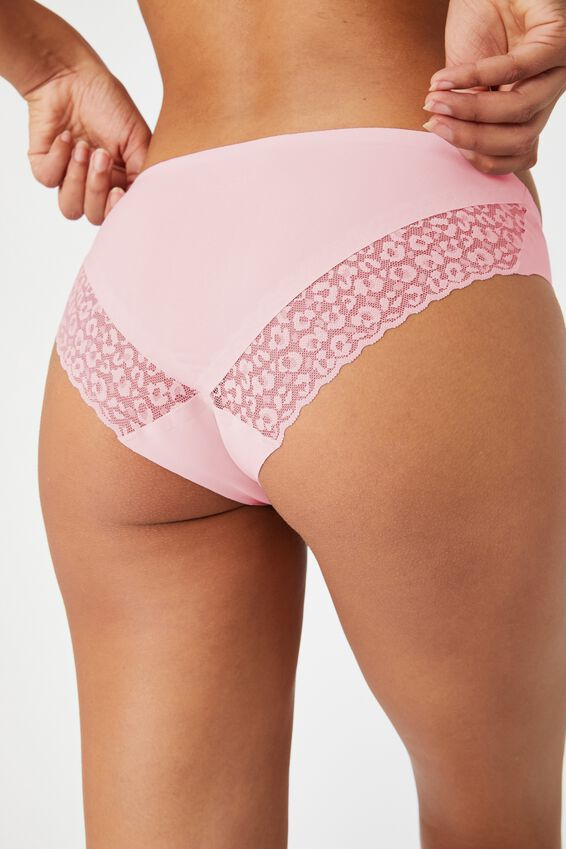 Party Pants Seamless Bikini Brief, LILAC SNOW