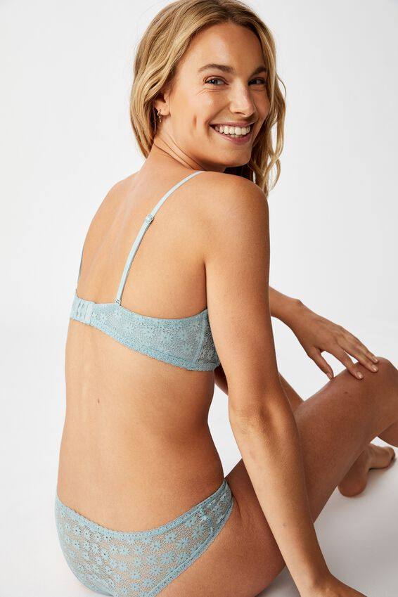Daisy Underwire Strapless, WILLOW GREEN