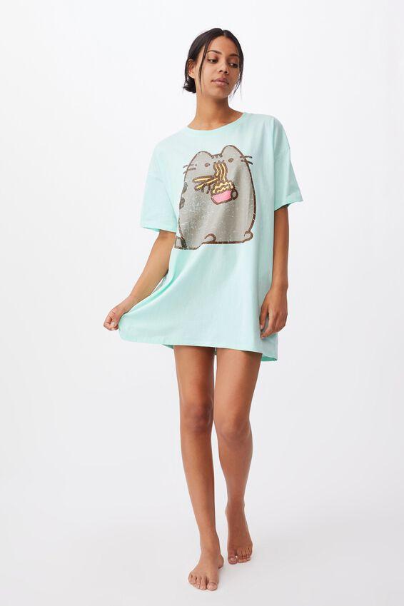 90 S Tshirt Nightie, LCN PUSH PUSHEEN NOODLES