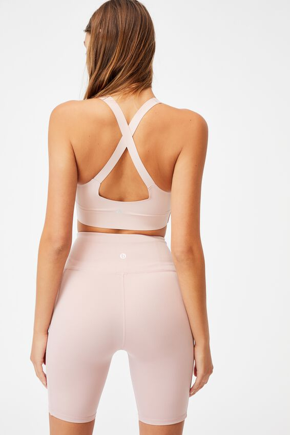 All Day Comfort Crop, ALMOND PINK