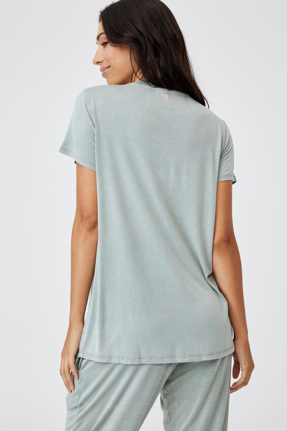 Sleep Recovery Maternity T Shirt, DESERT SAGE WASH