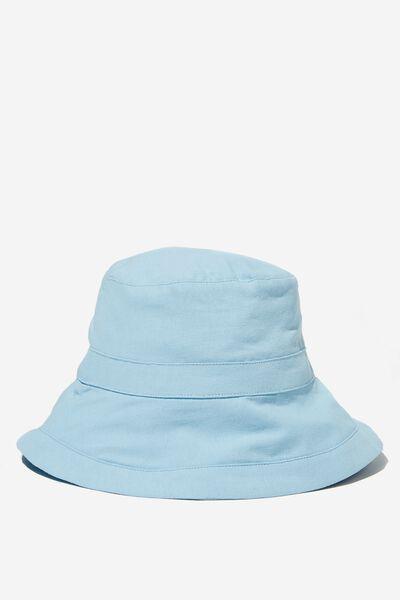 Beachy Bucket Hat, WASHED SEA SALT BLUE