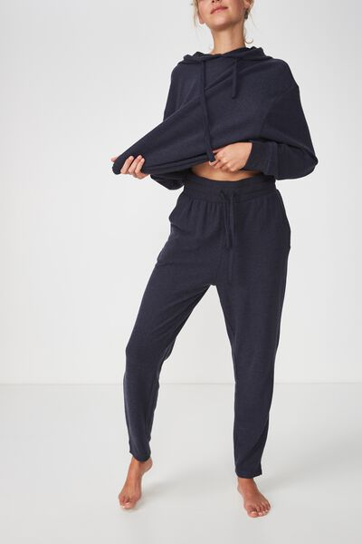 Supersoft Relaxed Pant, NAVY BABY MARLE