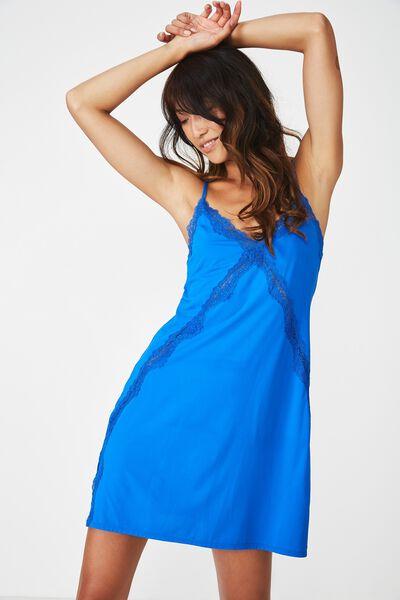 Cross Lace Slinky, IBIZA BLUE