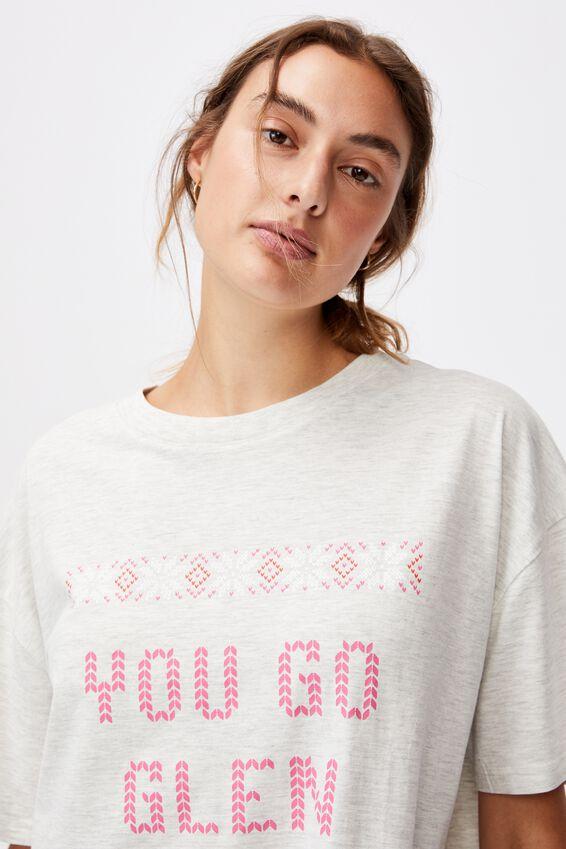 90 S Tshirt Nightie, LCN PAR MEAN GIRLS GLEN COCO