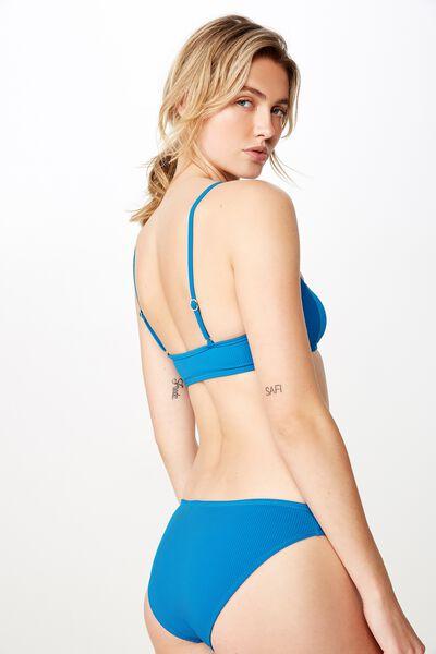 High Side Brazilian Bikini Bottom, SEAPORT RIB