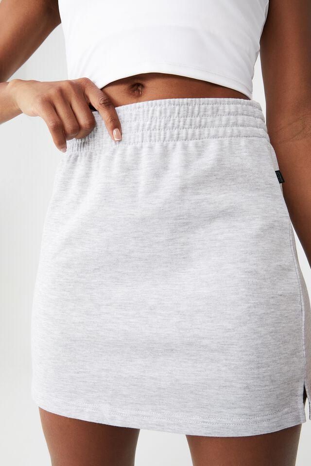 Lifestyle Fleece Skirt, GREY MARLE