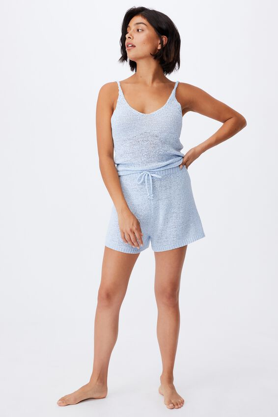 Summer Lounge Singlet, BABY BLUE