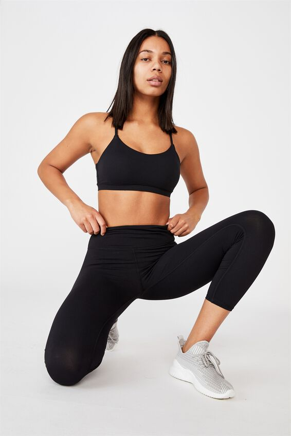 Active Core 7/8 Tight, BB BLACK Y