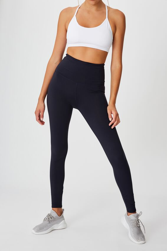 Active High Waist Core Full Length Tight, CORE NAVY