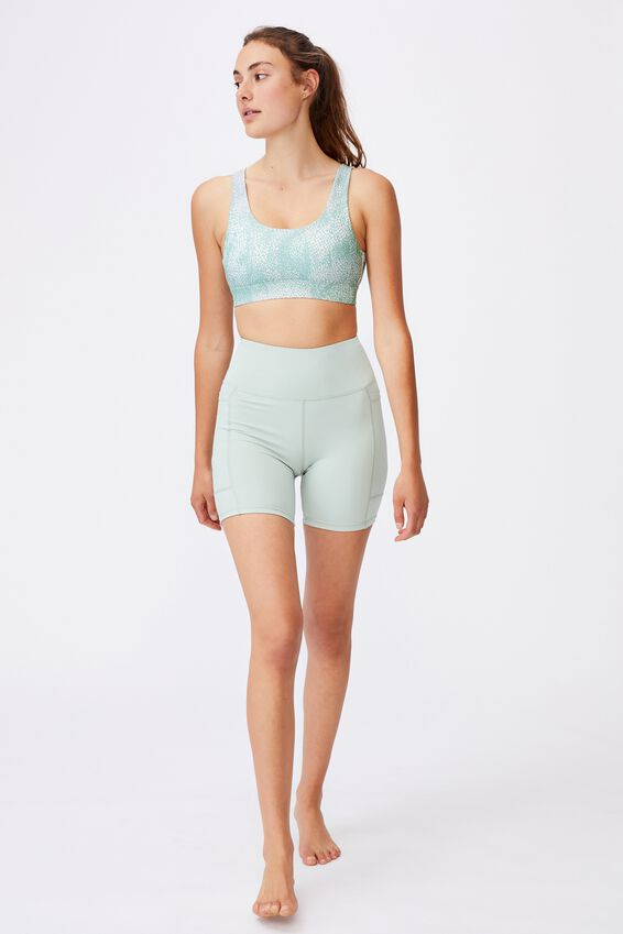 Cutout Back Crop, SEA SPRAY MINT CHIP