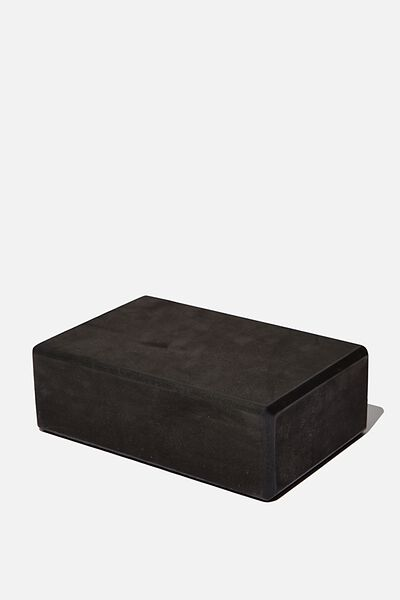 Yoga Block, BLACK