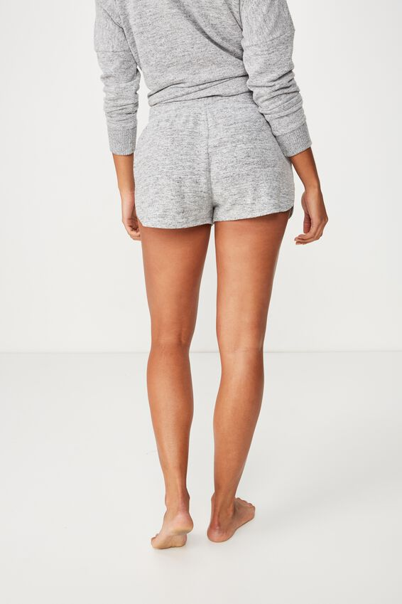 Supersoft Lounge Short, GREY MARLE