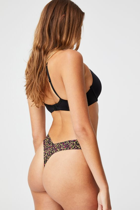 The Invisible G String Brief, BLACK FLOWER FIELDS