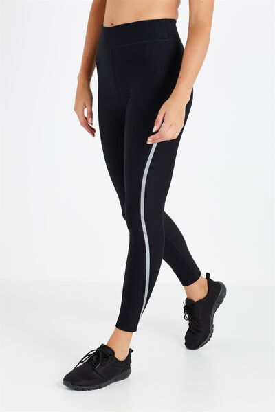 Thermal Reflective Tight, BLACK