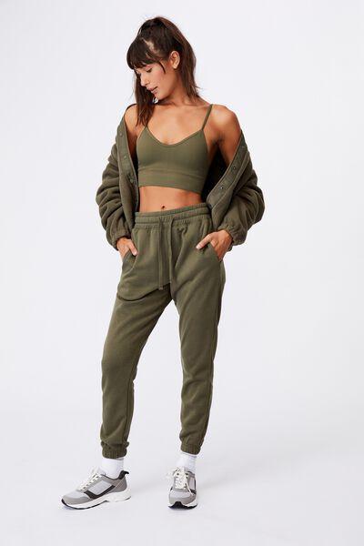 Lifestyle Gym Track Pant, DEEP MOSS