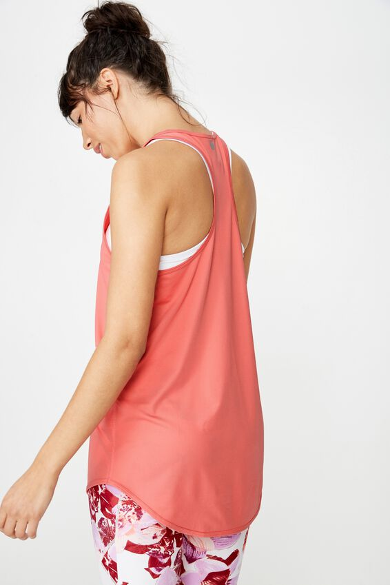 Training Tank Top, SUNKISSED CORAL