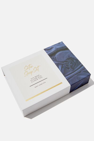 Satin Sleep Set, MIDNIGHT