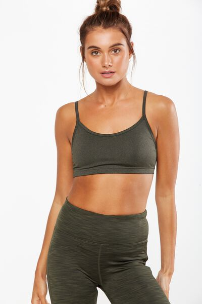 Workout Yoga Crop, EVERGREEN MARLE