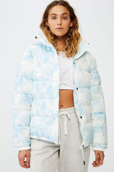 The Mother Puffer, BABY BLUE TIE DYE
