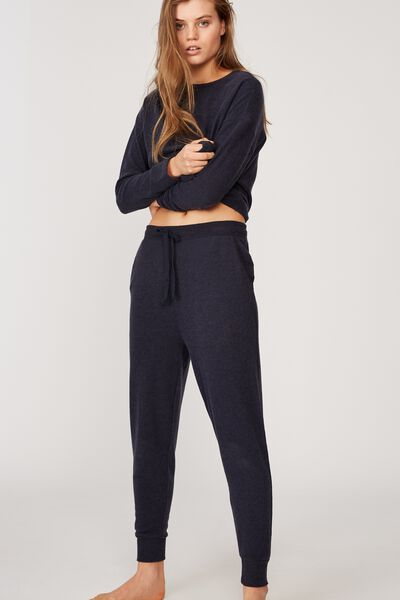 Supersoft Slim Fit Pant, NAVY BABY MARLE