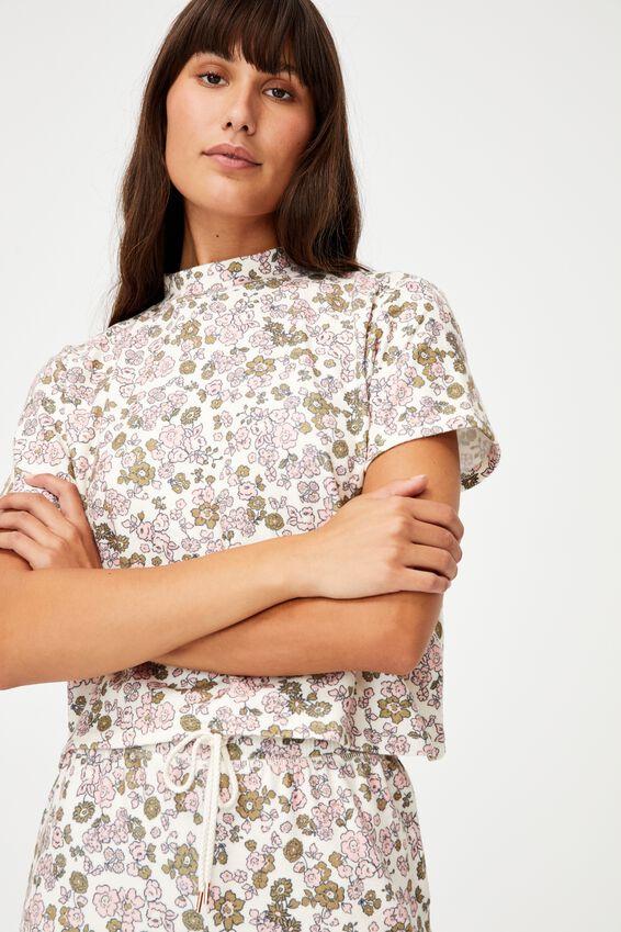 Super Soft Lounge T-Shirt, DRAWN DITZY