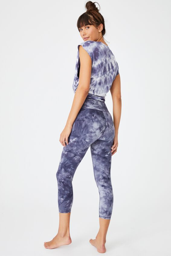 Marble 7/8 Tight, PERIWINKLE
