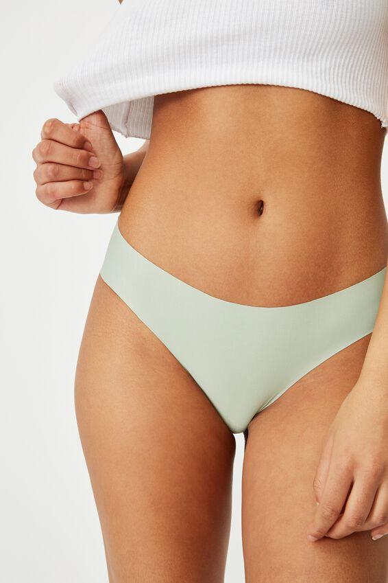 The Invisible Bikini Brief, MINT CHIP