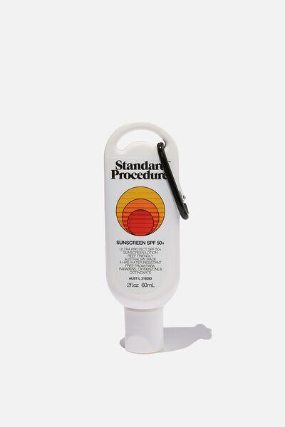 Standard Procedure Spf 50+ Sunscreen 60Ml, SPF 50+