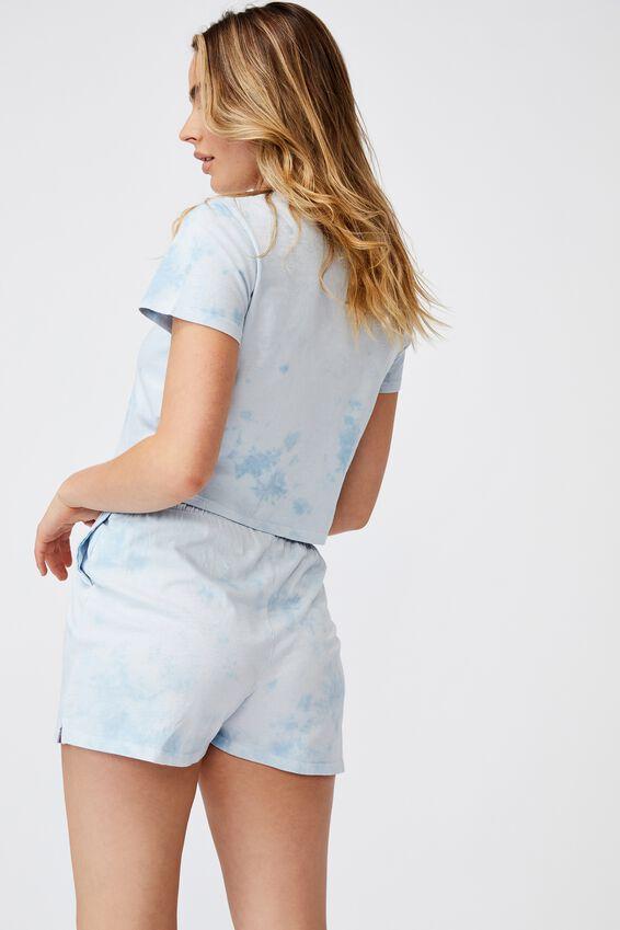 Baby Sleep T-Shirt, BLOTCH TIE DYE