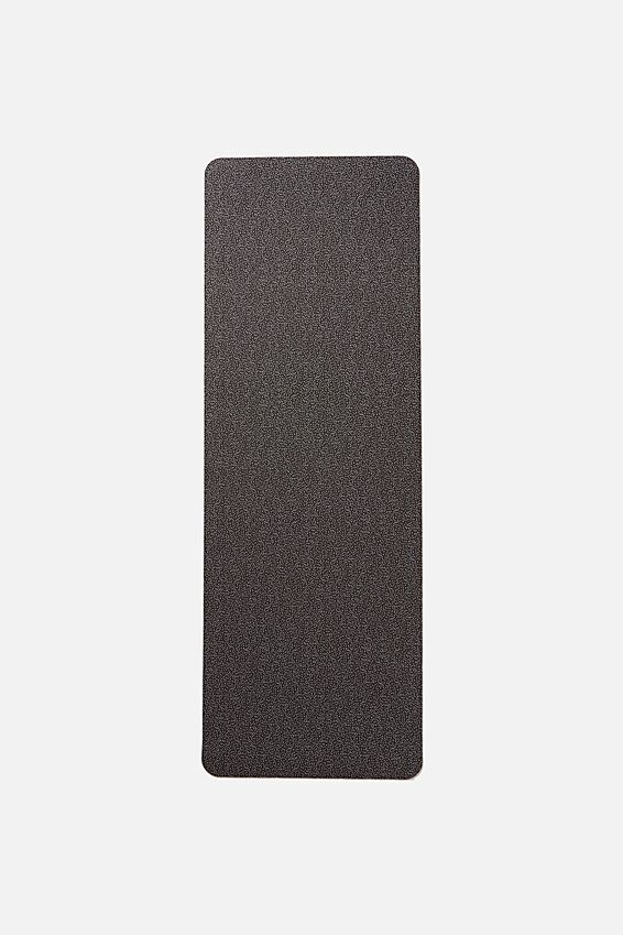 Printed Yoga Mat, BLACK SPECKLE