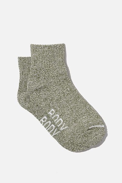 Reggie Sports Low Crew Sock, KHAKI