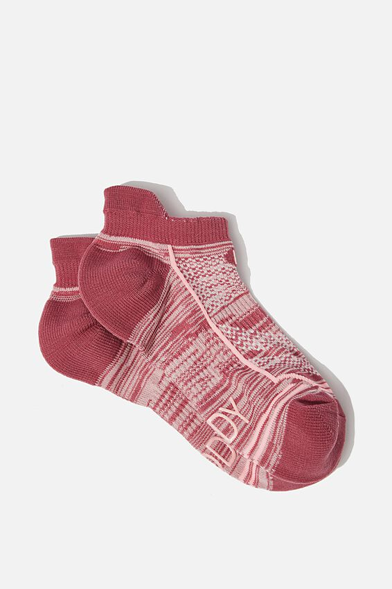 Running Sock, MULBERRY